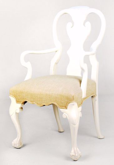 Picture of BALL & CLAW DINING ARM CHAIR