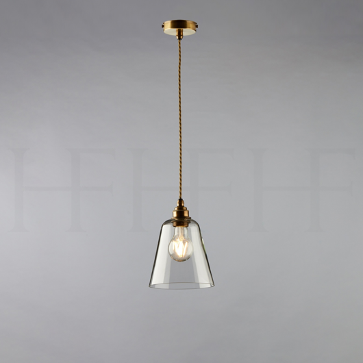 Picture of GLASS BELL SHADE, SMALL