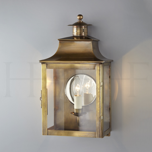 Picture of SQUARE LANTERN WITH CHIMNEY AND MIRROR