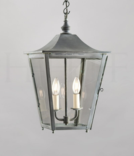 Picture of ATHENA HANGING LANTERN ZINC