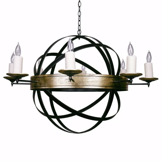 Picture of ARMILLARY CHANDELIER
