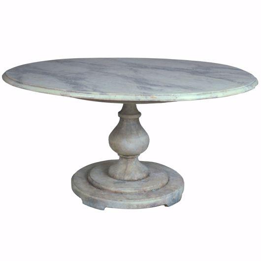 Picture of ROMAN GARDEN PEDESTAL TABLE
