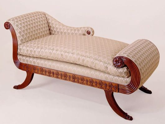 Picture of GEORGIAN STYLE MAHOGANY DAYBED