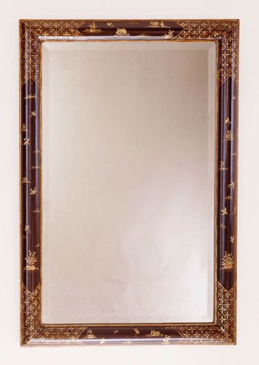 Picture of GEORGIAN STYLE CHINOISERIE MIRROR