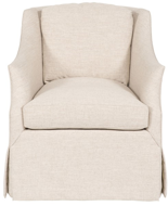 Picture of ABIGAIL WATERFALL SKIRT SWIVEL CHAIR
