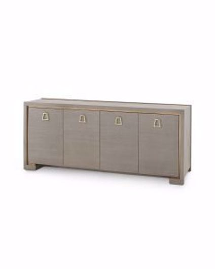 Picture of BLAKE-4-DOOR-CABINET-TAUPE-GRAY