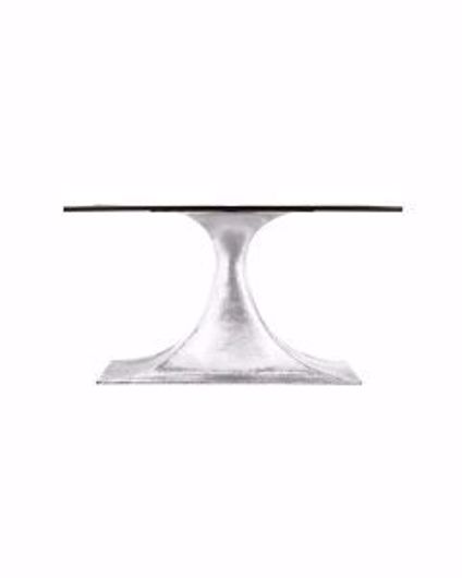 Picture of STOCKHOLM SMALL OVAL TABLE BASE NICKEL