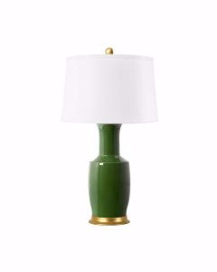 Picture of ALIA LAMP DARK GREEN