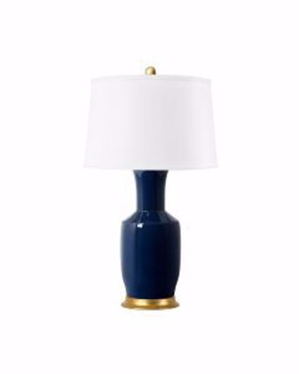 Picture of ALIA LAMP NAVY BLUE