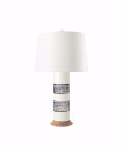Picture of ELENA LAMP BLUE & WHITE