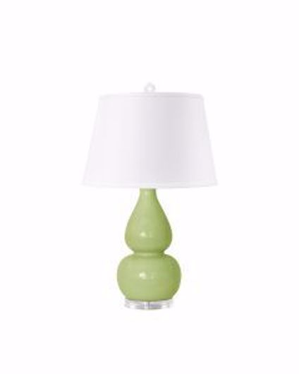 Picture of EMILIA LAMP LIGHT GREEN