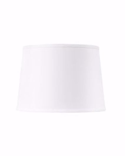 Picture of SHADE 14 INCH WITH NICKEL WHITE LINEN