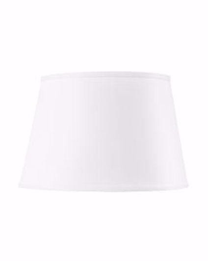 Picture of SHADE 16 INCH WITH GOLD WHITE LINEN