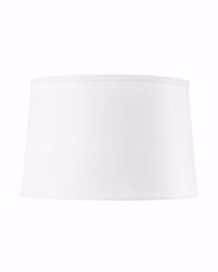Picture of SHADE 17 INCH WITH NICKEL WHITE LINEN