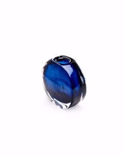 Picture of ANGELI-SMALL-VASE-MIDNIGHT-BLUE