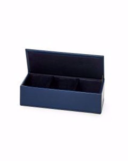Picture of HUNTER PIN CLIP BOX NAVY BLUE