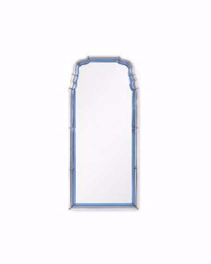Picture of ANNE MIRROR SAPPHIRE BLUE AND GRAY